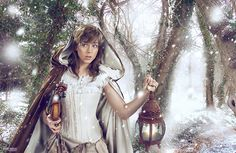 Story Series Lindsey Stirling by Josh Rossi, via Behance