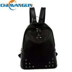 Find More Backpacks Information about CHUWANGLIN Fashion Women Nylon Backpacks Rivet Schoolbags for Teenage Girls Female Bagpack Lady Travel Mochila  LY12012,High Quality schoolbag,China schoolbag trolley Suppliers, Cheap schoolbag backpack from CWL1 on Aliexpress.com