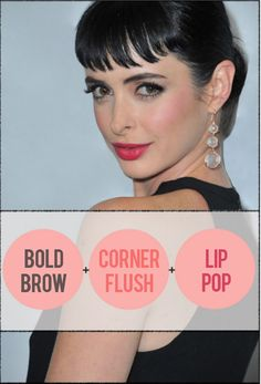 Followed this tutorial and bought the recommended lipstick. It's all pretty awesome...