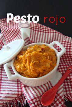 5 SeNtIdOs En La CoCiNa: Pesto rosso o siciliano {pesto rojo}