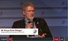 Panel discussion: Klaus-Peter Böttger (Outgoing EBLIDA President 2012-2015)