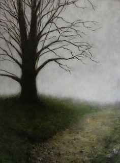 Oil Painting Landscape-Oregon End of Winter