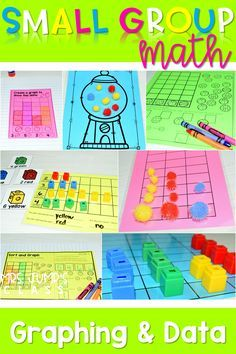 Kindergarten Small Group Guided Math is packed with engaging activities to help your little mathematicians gain a deeper understanding of mathematics. Modules include graphing and data collection.