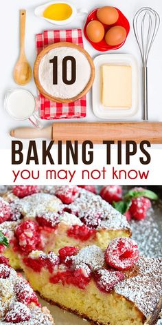 10 Baking Tips You M