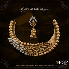 You stand out in a crowd because there's nobody else like you! #indiajewelry
