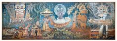 """john biggers murals 