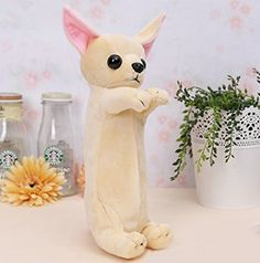 Amazon.com : MoralBelief Lovely Cartoon Dog Design Pencil Case Cute Pencil  Holder For Chi