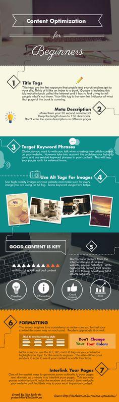 Content Optimization infographic