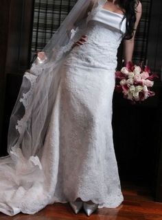Vendo lindo vestido de noiva!