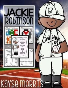 Jackie RobinsonTeach students about Jackie Robinson with this fun mini unit. Download Preview FilePlease make sure to download the preview file and video video if applicable. Please ensure that it is appropriate for your grade level prior to purchasing.