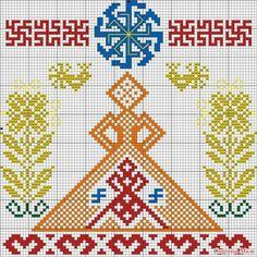 обережная вышивка славян схемы - Поиск в Google