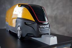 Mack Truck Concept Model by Jay Brett, via Behance