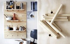 Det er tid til at genfinde de gamle færdigheder fra sløjdtimerne! Se her, hvor let du kan lave en cool reol til køkkenting eller måske til børneværelset.