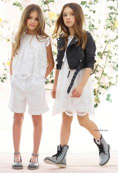 ALALOSHA: VOGUE ENFANTS: What to Wear: Effortless Head-to-Toe Twin-SET Looks