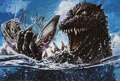 Monster Board, Godzilla Wallpaper, Batman Vs, Superman, Monsters, Whale, Geek Stuff, Universe, King