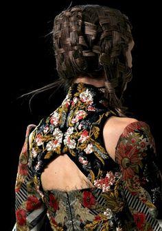 Alexander McQueen spring 2011 collection.