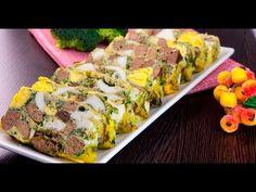 Drob de pui cu ouă – atât de gustos, încât nu va rămâne nici o fărâmitur... Sushi, Mexican, Japanese, Ethnic Recipes, Youtube, Salads, Japanese Language, Youtubers, Mexicans