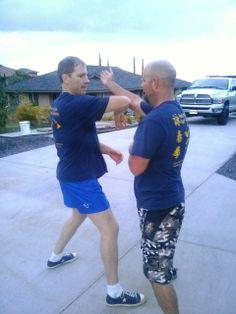 Pak Flow drill with Scott Cannam and Mike Pollard in #Waikoloa  #hawaii #wingchun #vingtsun #martialarts #kungfu