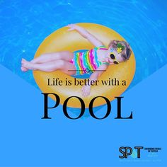 Life is better with a pool! #Summer2016