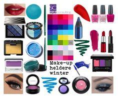 """""""Make-upkleuren voor de heldere winter/ clear winter."""" By Margriet Roorda."""