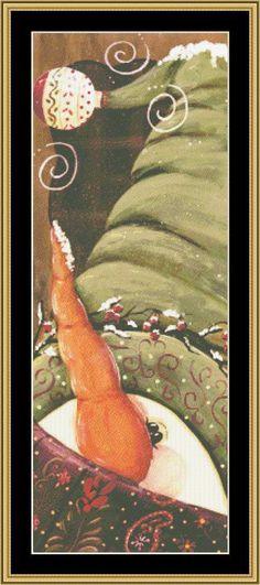 A Snowman [JM-87] - $16.00 : Mystic Stitch Inc, The fine art of counted cross stitch patterns