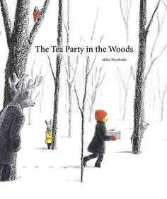 The Tea Party in the Woods Akiko Miyakoshi A tender modernist fairy tale by Japanese artist Akiko Miyakoshi: Original Fairy Tales, Books To Read, My Books, Story Books, Oliver Jeffers, Mighty Girl, Album Jeunesse, Children's Picture Books, Picture Story