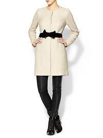 Pim + Larkin Bow Detail Coat on Piperlime #winter #coat