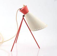 Vintage Modernist Lamp Napako 1618 designed by Josef Hurka Desk Lamp, Table Lamp, Mid Century Desk, Eames, Mid-century Modern, Lighting, Retro, Unique Jewelry, Vintage