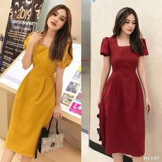 Swans Style is the top online fashion store for women. Shop sexy club dresses, jeans, shoes, bodysuits, skirts and more. Simple Dresses, Pretty Dresses, Beautiful Dresses, Casual Dresses, Modest Fashion, Hijab Fashion, Fashion Dresses, Classy Dress, Designer Dresses