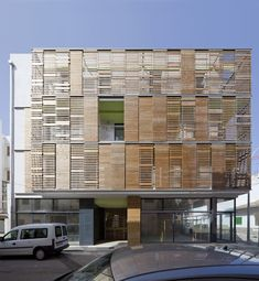 Latticework Apartment Block / Juana Canet Arquitectos & Angel M Martín Cojo Architect