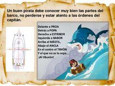 Aventuras piratas Elizabeth Johns, Esther Garcia, Pirate Birthday, Infant Activities, Activities For Kids, Pirate Preschool, Treasure Hunt For Kids, Pirates, Storytelling