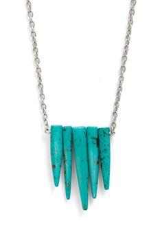 Wish I May, Wish I Stalagmite Necklace, #ModCloth