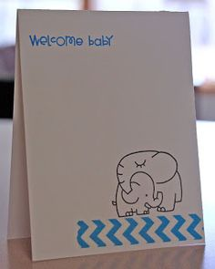 My crafty stuff: Welcome Baby