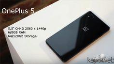 OnePlus 5 con varie specifiche confermate, tra queste la dual camera  #follower #daynews - https://www.keyforweb.it/oneplus-5-varie-specifiche-confermate-queste-la-dual-camera/