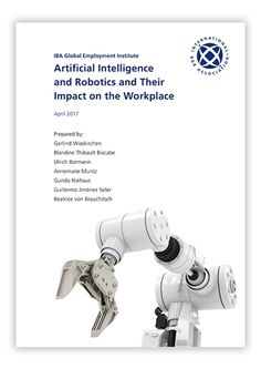 Artificial Intelligence and Robotics and Their Impact on the Workplace