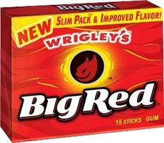 Wrigley's Big Red Gum Ingredients Explained