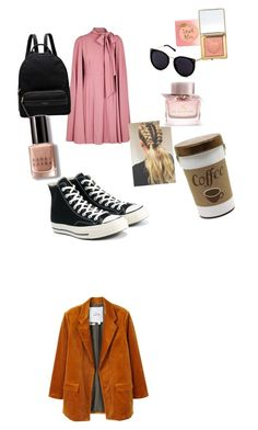 """Autum set"" by davidmihaela on Polyvore featuring Valentino, Converse, Radley, Bobbi Brown Cosmetics, Burberry and MANGO"