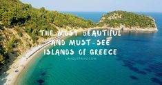 Let's explore the top 10 must-see islands of Greece. Beautiful Hotels, Beautiful Beaches, Greece Islands, Seven Wonders, Vacation Places, Beautiful Islands, World Heritage Sites, Night Life, Day Trips