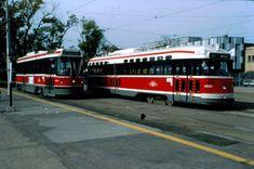 Toronto TTC CLRV and PCC. Toronto Subway, Light Rail, Toronto Canada, Public Transport, Buses, Ontario, Transportation, Train, Memories