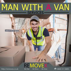 Removex offers man with a van removals service, receive your FREE quotes from our professional movers in the London UK. http://www.removex.co.uk/#!removex-man-with-a-van-services/c1qjz #movers #manwithavan #removex