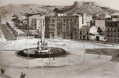 Plaza de los luceros, Alicante hacia 1930