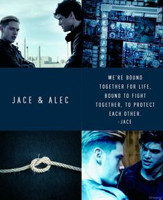 Jace and Alec official poster