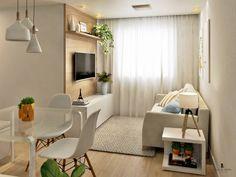 How To Use A Living Room Sofa For Maximum Space Utilization? Small Apartment Living, Small Living Rooms, Living Room Sofa, Home Living Room, Living Room Decor, Condo Interior, Interior Design Living Room, Living Room Designs, Small Room Design