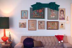 love love love the oversized bow! // Danielle Thompson Christmas 2011