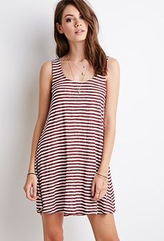 Classic Striped Dress | Forever 21 - 2000183720
