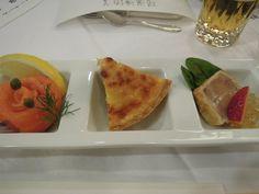 前菜3種@都ホテル
