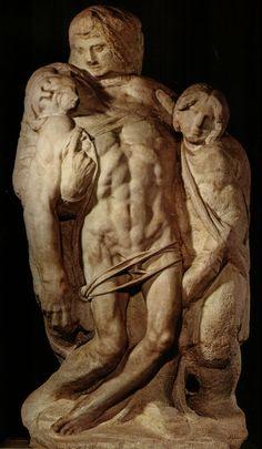 Michelangelo - Palestrina Pietà. c. 1555