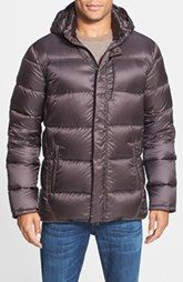 Victorinox Swiss Army® 'Brugg' Tailored Fit Water Repellent Airtastic™ Down Hooded Jacket