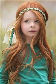 Persnickety Clothing - Emerald Pine Hair Braid in Green