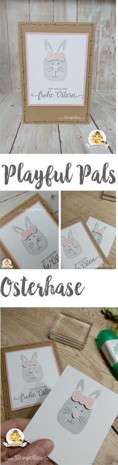 stampin up blog playful pals ostern 2017 easter bunny hase anleitung stempeltier